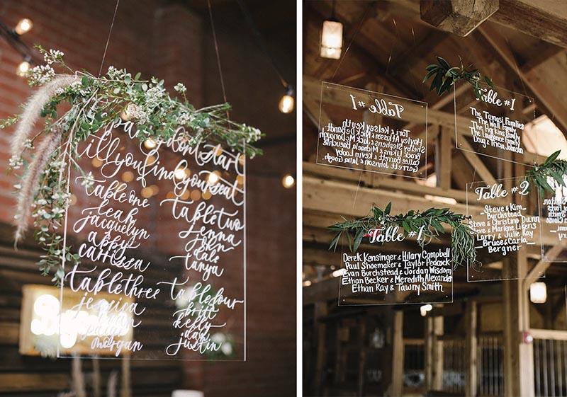 tendencias de decoración para bodas 2018 marmol vidrio esperjo