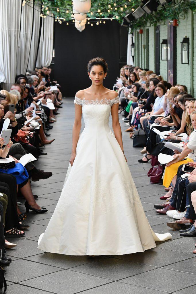 Vestido de novia minimalista 2019